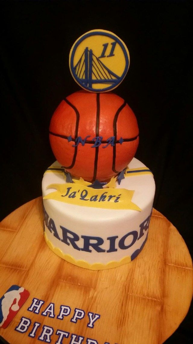 25 Elegant Image Of Birthday Cake For 11 Year Old Boy Golden State Nba Cakecentral