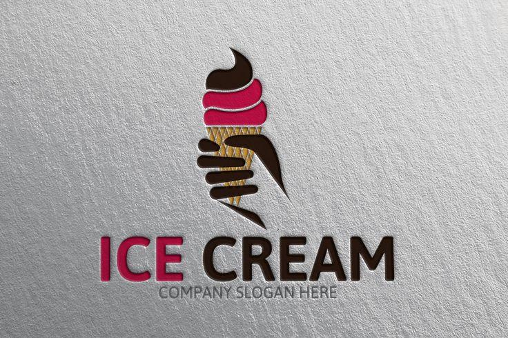 Ice Cream Logo by Josuf Media on Creative Market