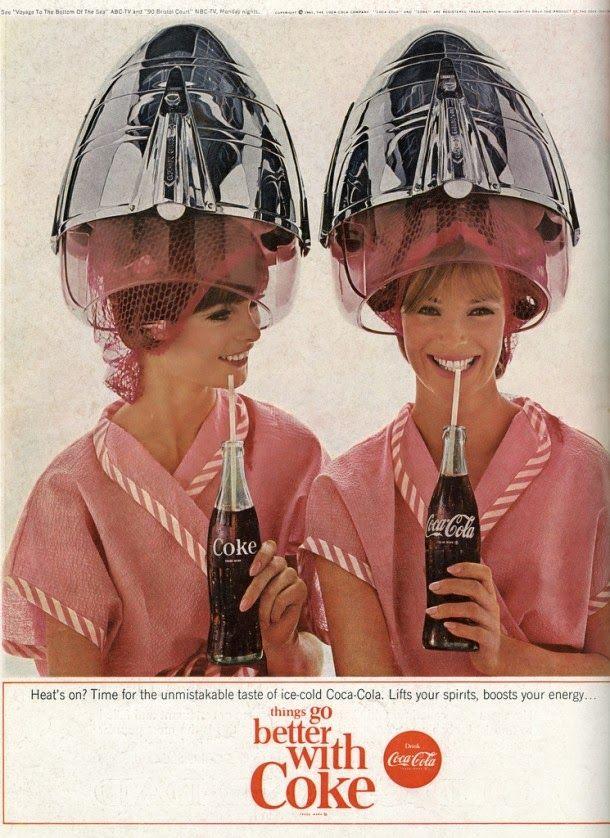 Coca cola magazine ads from 1960s 15 jpg 610 838 don - Nevera coca cola retro ...