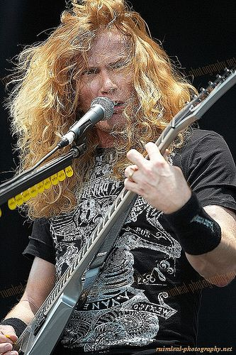 Dave Mustaine....Megadeth