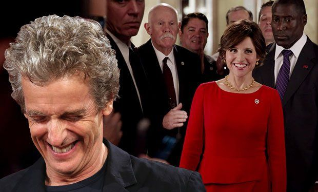 Peter Capaldi casually mentioned he's directing episodes of Veep like it's no big deal