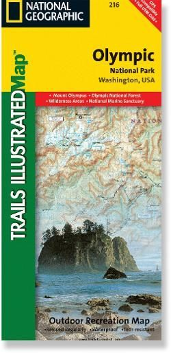 Trails Illustrated Olympic National Park Topographic Map