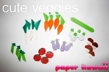 Fofo Origami VEGETAIS