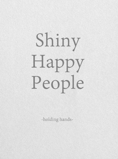 shiny happy people - rem
