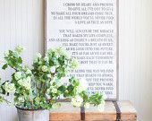 Between You and Me Signs by BetweenYouAndMeSigns on Etsy