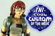 TNI Cool Custom of the Week - Janine Melnitz in Ghostbusters Uniform Action Figure