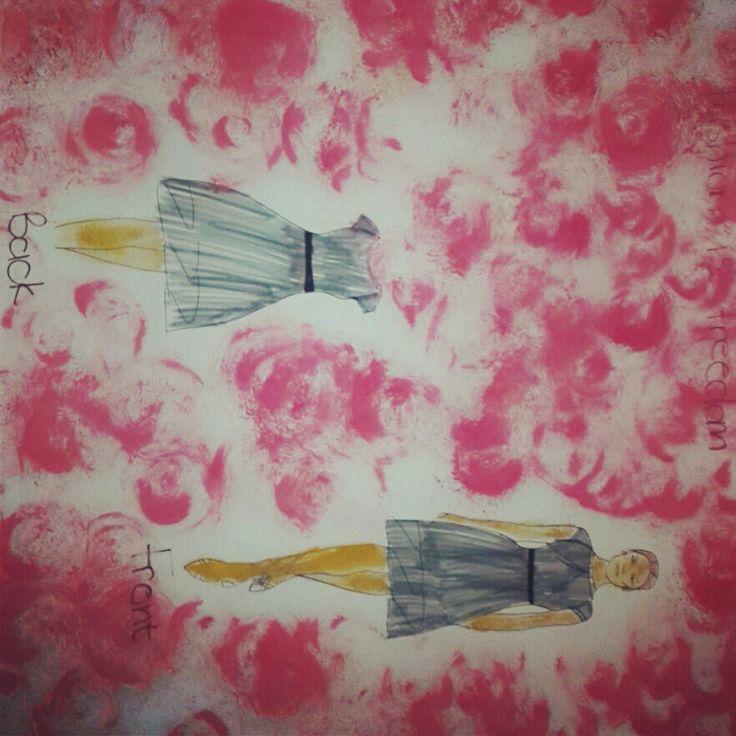 Story board fashion designer
