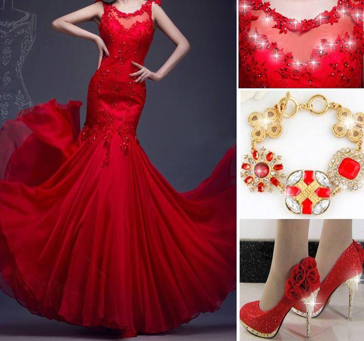 Red lover dress