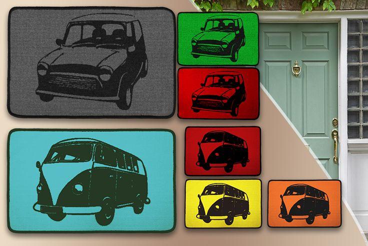 'Mini Cooper' & 'VW Campervan' Doormats Mini cooper s