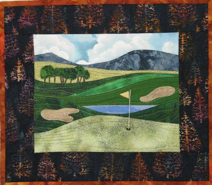Accidental Landscape Series - Golf Courses – Quilting Books Patterns and Notions
