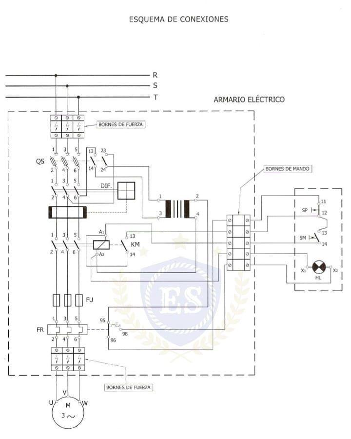 arranque directo de un motor  saludos             electricidad  engenheiros  electricidadpty