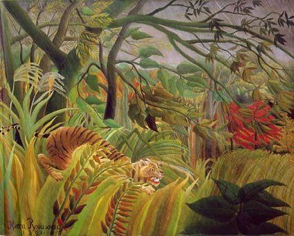 Paradis - Le Douanier Rousseau