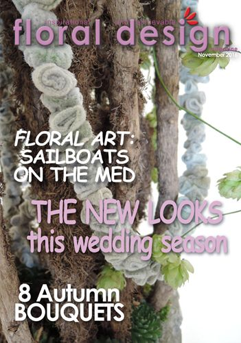 And now you can see how our mystery flowers were used in stunning Autumn bouquets in the new edition of floral design available to download now at www.floraldesignmagazine.com/download1116.html Enjoy!