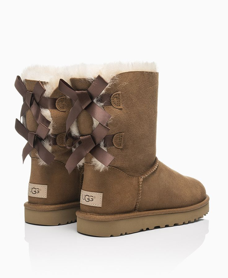 UGG - Bailey Bow II Boot - Chestnut - Shoes & Trainers - Womens