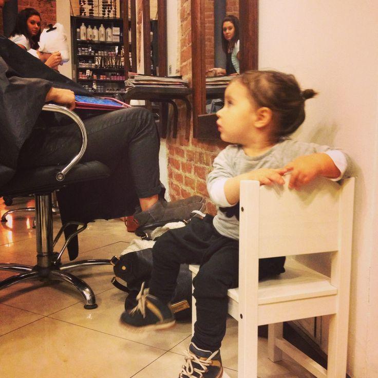 Beautifull girl #hair #fab #wAiting for mum