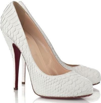 Обувь невести на свадьбу