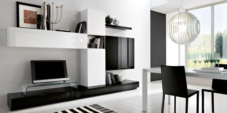 Modern Living Room Black And White Hdblack And White Minimalist Living Room Tv Cabinet By Silvano I7gw6ihg  1,024×513 Pixels | Wohnzimmer | Pinterest Part 77