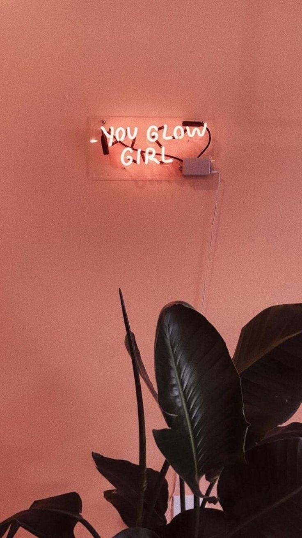 you glow motivational quotes girlboss aesthetic