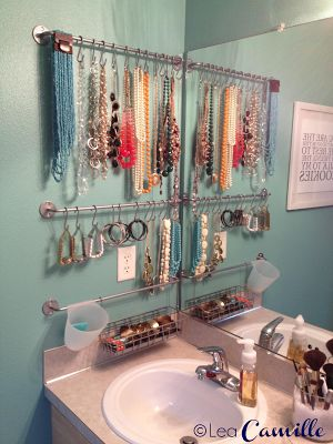 Jewelry Display – also a great storage idea for ba | IDEAS FOR HOME
