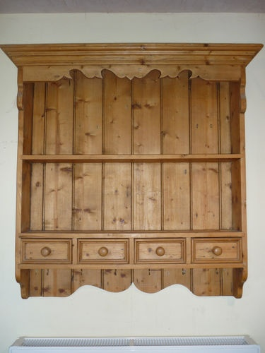 Antique Pine Wall Dresser for when you've run out of floor space!