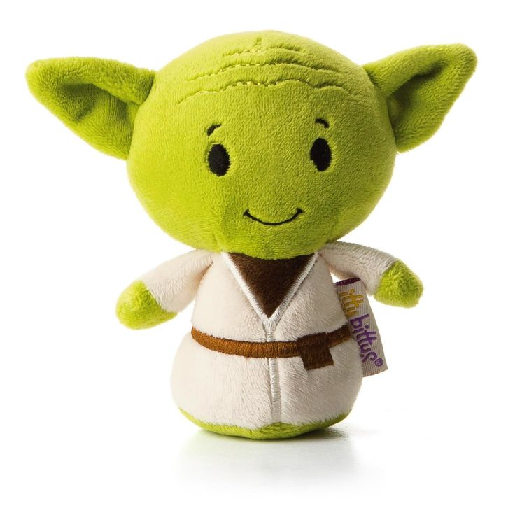 itty bitty® YODA™ Stuffed Animal.  Mini he is.  Love him, you will.  $6.95