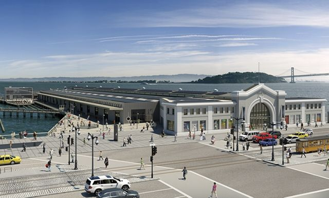 The New Exploratorium on the Embarcadero | image courtesy of Amy Snyder