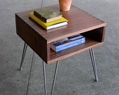 Mid Century Modern Inspired Side Table #Etsy #JonathanAdler #GetChicSweepstakes