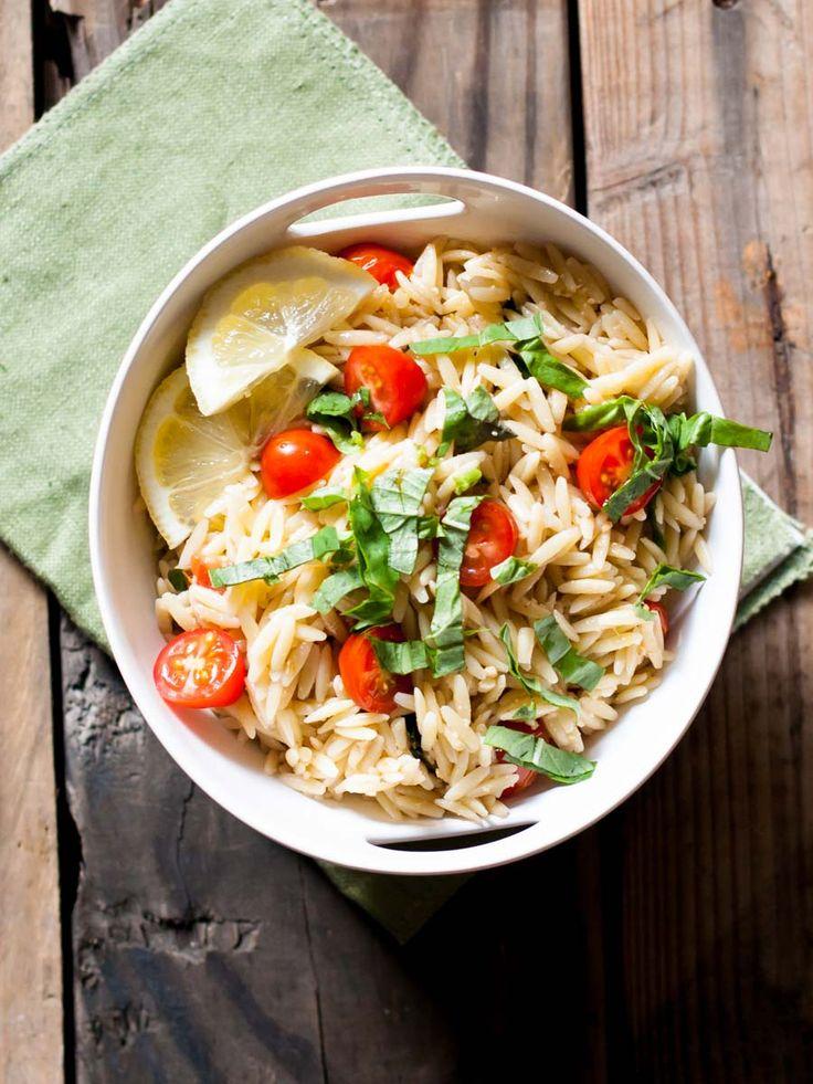 recipe: chicken florentine salad with orzo pasta [20]
