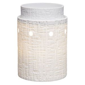 The beauty of the windswept desert captured in unglazed porcelain, illuminated by the aura of daybreak sun. To purchase, go to www.jenni.scentsy.com.au