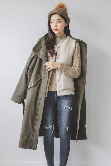 French Wool Inner M Jacket | Korean Fashion