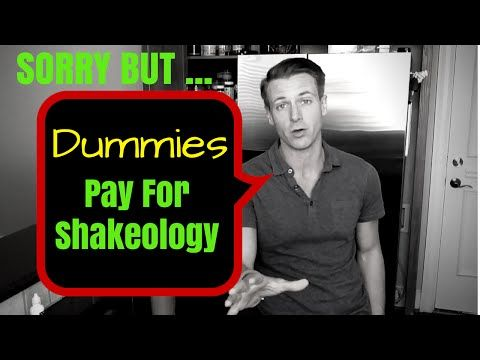 Dummies Pay for Shakeology - How to Get Free Shakeology - YouTube