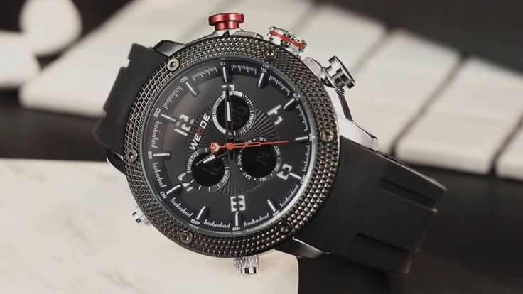 WEIDE WH5206 Silicone Straps oversize watches