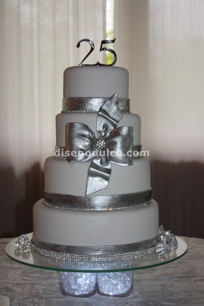 25th wedding anniversary cakes 25th wedding anniversary for 25 year anniversary decoration ideas