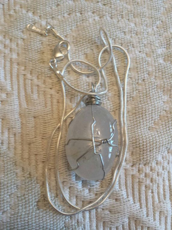 Check out this item in my Etsy shop https://www.etsy.com/listing/238657618/free-shipping-hand-wrapped-wire-opaque