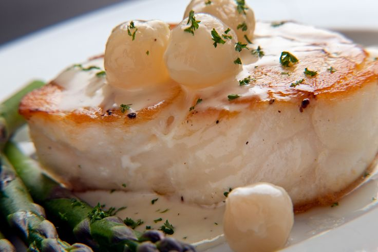 Chilean Sea Bass with Lemon Butter Sauce