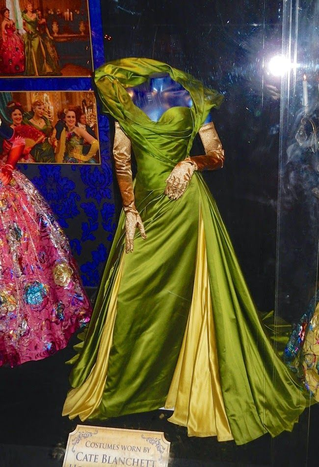 Lady Tremaine Cinderella Stepmother green ball gown