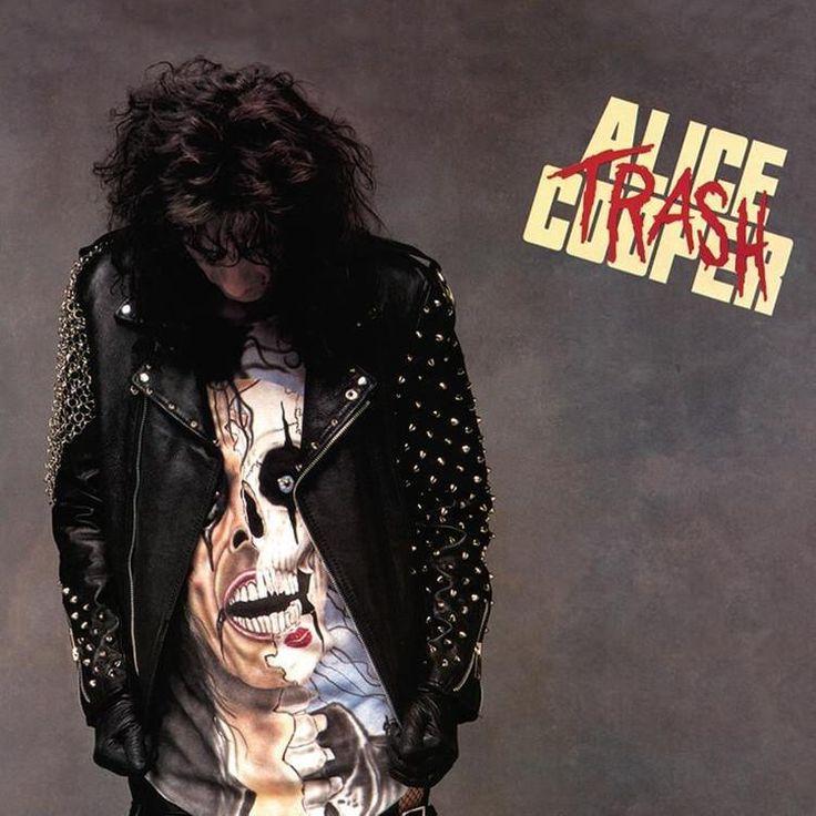 Alice Cooper - Trash Numbered Limited Edition Colored 180g Import Vinyl LP October 6 2017 Pre-order
