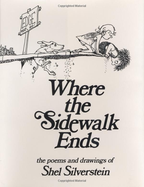 Shel Silverstein.: Childhood Books, Books A Million, Books And, Where The Sidewalks End Poems, Shells Silverstein Poems, Elementary Schools, Drawing, Books For Kids, Shells Silverstein Books
