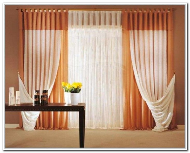 Beautiful Curtain Decoration For Bedroom