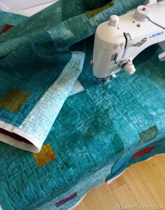 tutorial for a quilt-as-you-go technique that does away with hand sewing!!  a VERY nice method...