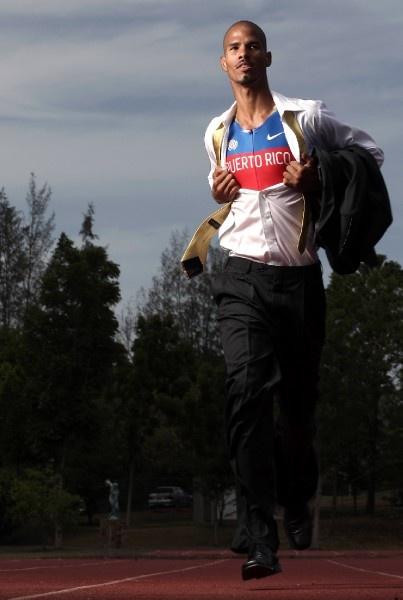9.En junio de 2008, participó de una sesión de fotos de moda sobre atletas que participaron en las Olimpiadas a celebrarse en Bejin, China. (El Nuevo Día/Ramón 'Tonita' Zayas)