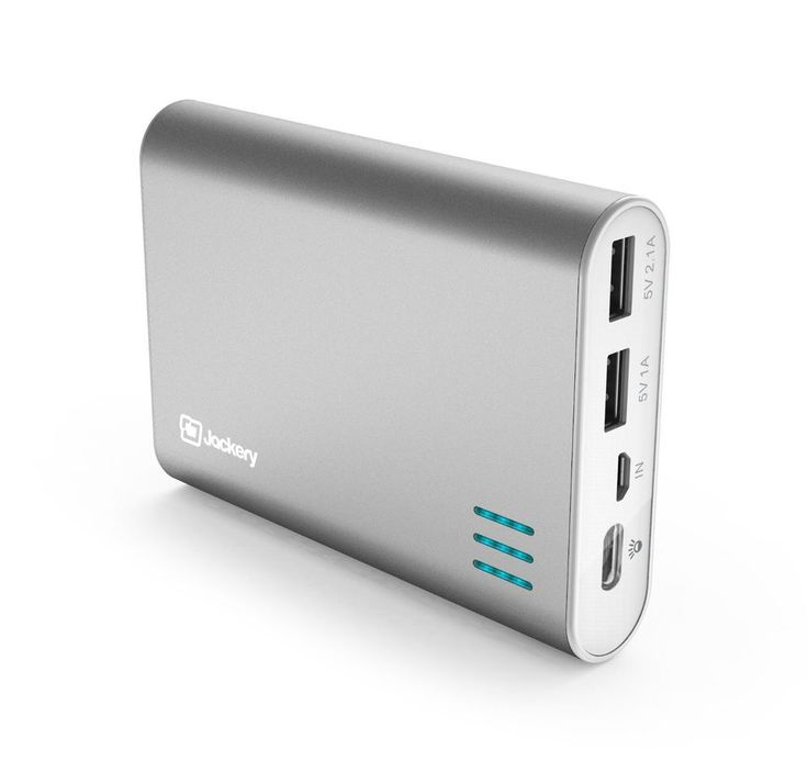 Jackery® Giant+ Premium Portable Charger Aluminum 12000mAh Power Pack and Extern #Jackery