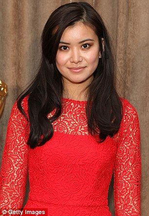 Katie Leung pictured at a party in London in 2014