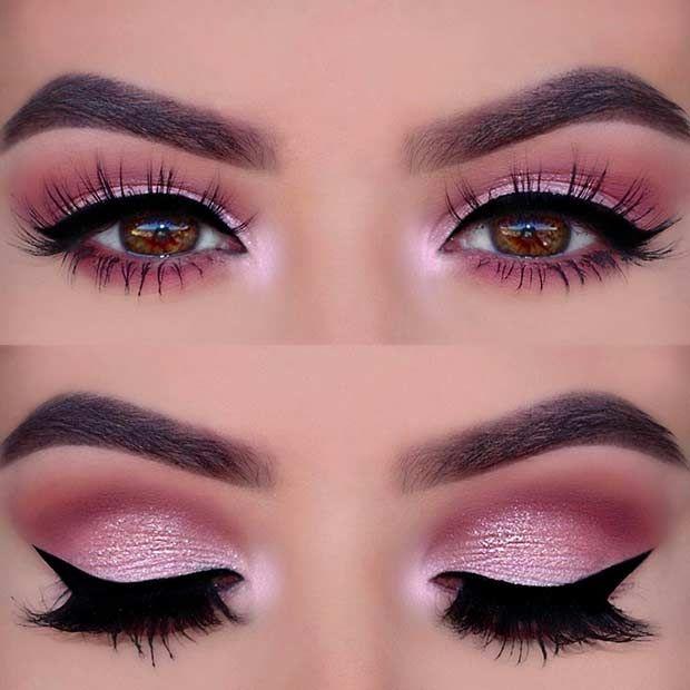 Best 25 Pink Smokey Eye Ideas On Makeup