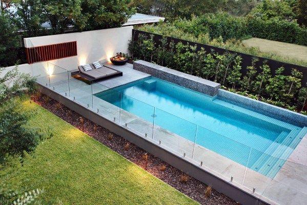 Glass Panels Pool Fence Home Ideas Glass Pool Fencing Pool Lounge Swimming Pools Backyard