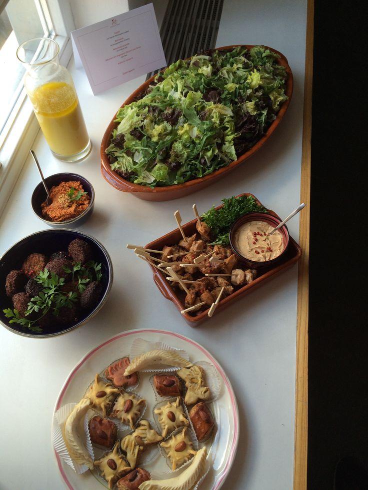 Business Lunch Orientalisch