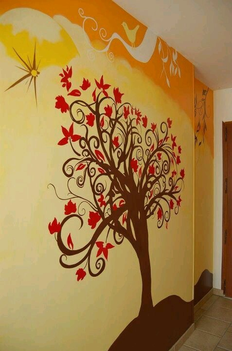 Fresque murale arbre de vie for Decoration murale arbre de vie