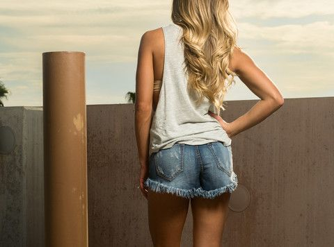 Meet me in my High-rise Shorts – The BB Boutique