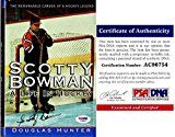 Scotty Bowman Signed  Autographed A Life in Hockey Hardcover Book with PSA/DNA Authenticity  Montreal Canadiens  Detroit Red Wings