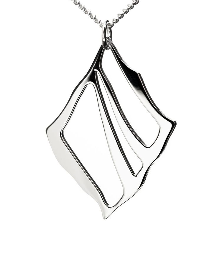 Nikama Silta Pendant, 30 mm polished